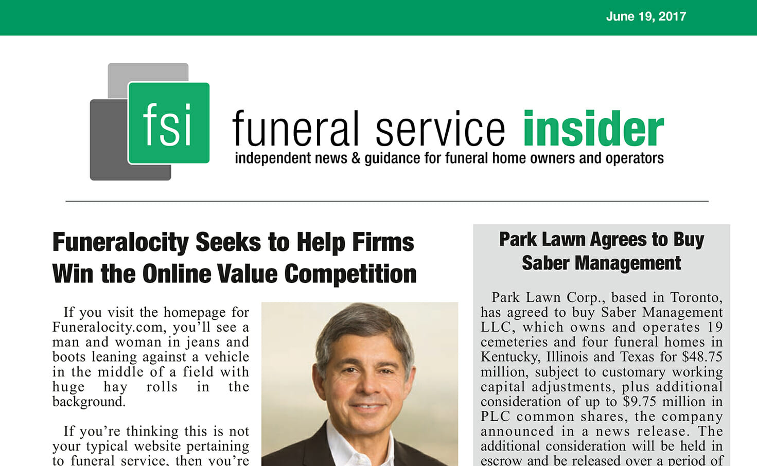 Funeralocity Seeks to Help Firms With the Online Value Competition