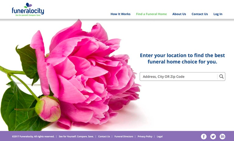 Funeralocity helps consumers save on funeral costs