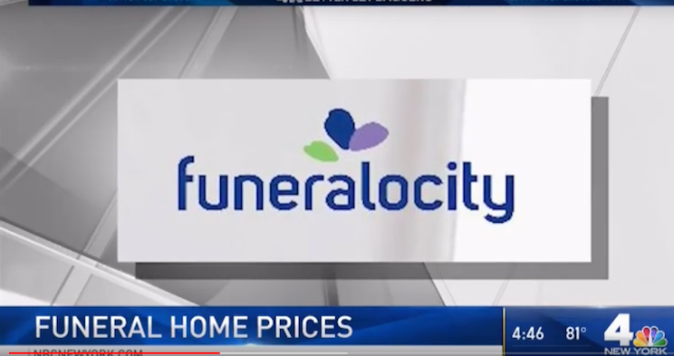 Funeralocity Talks Price Comparisons With WNBC New York