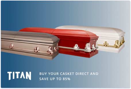 Buy your casket direct and save up to 85%