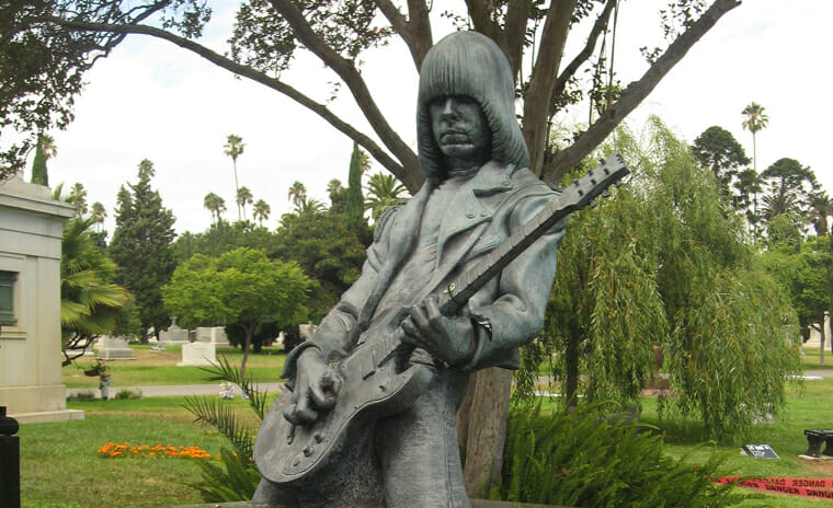 Hollywood Forever Cemetery,